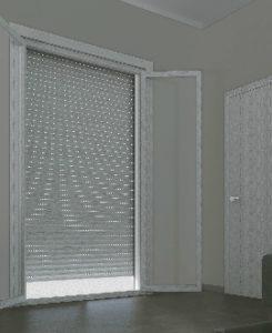 Design classico ma con la tecnologia del futuro grazie al PVC interno e all'alluminio coibentato esterno